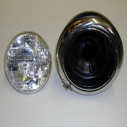 Picture of Headlight Assembly W-Series Dodge Trucks 1941-1947 Includes Sealed Beam