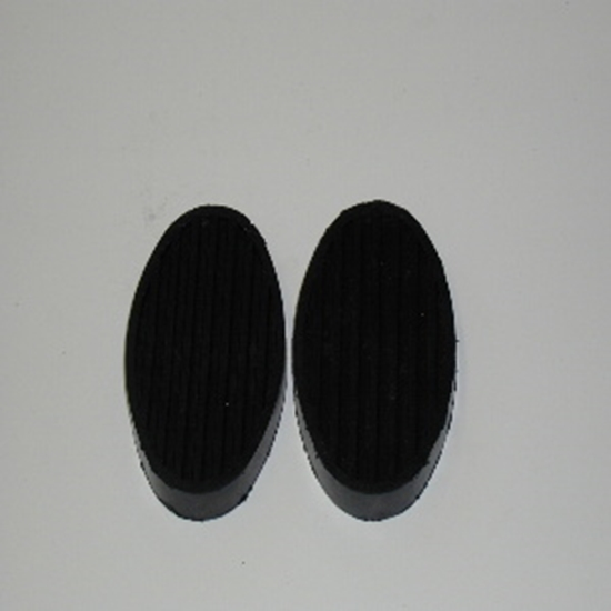 Picture of Brake & Clutch Pedal Pads Pairs For 1948 1949 1950 1951 1952 1953 Dodge Trucks