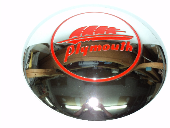 Picture of Plymouth Hub Cap Assembly 1941 1942 10 Inch Cap
