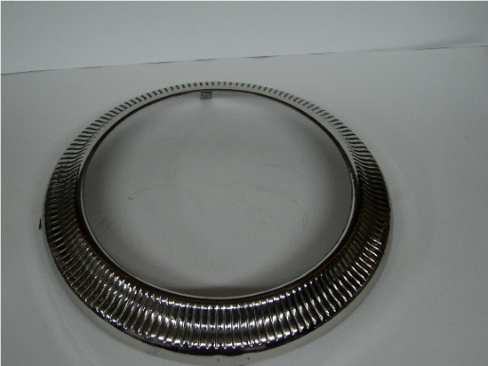 Picture of Trim Ring Fits Inside Against Hub Cap Chrysler Dodge Desoto Plymouth Dodge Truck Plymouth Truck 1939 1940 1941 1942 Cars& Trucks