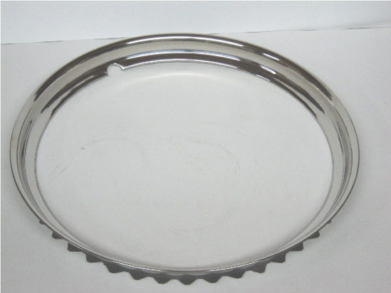 Picture of Trim Ring Outer For 16 Inch Wheels Dodge Truck Plymouth Truck 1937 1938 1939 1940 1941 1942 1945 1946 1947 1948 1949 1950 1951 1952 1953 Chrysler Dodge Desoto Plymouth 1937 1938 1939 1940 1941 1942 1946 1947 1948