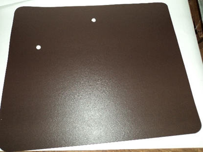 Picture of Dodge Truck Door Panels Brown Pair 1939-1947.