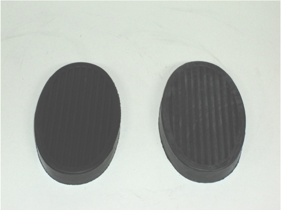 Picture of Dodge Truck Brake and Clutch Pedal Pads for 1930-1947 Dodge Trucks