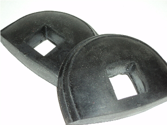 Picture of Bumper Arm Grommets Front Pairs. Dodge And Plymouth Truck 1936 1937 1936 Dodge  1936-1937 Chrysler & Desoto