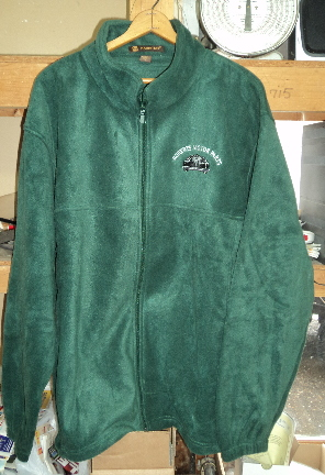 Picture of Roberts Motor Parts 8 oz Fleece Hunter Green Large