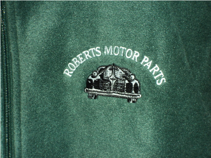 Picture of Roberts Motor Parts Fleece Hunter Green 8 oz XL
