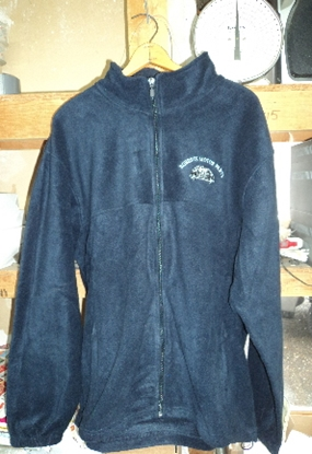 Picture of Roberts Motor Parts Navy Blue 8 oz Fleece XL