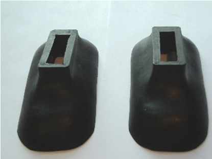 Picture of Front Bumper Arm Grommet Pair. 40 Plymouth & Dodge 39-56 Dodge Truck Panel