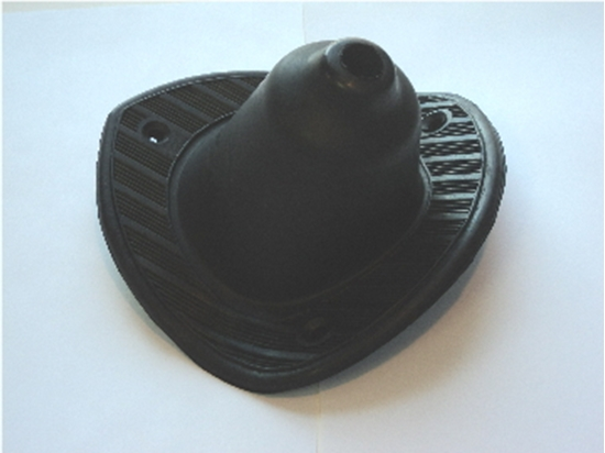 Picture of Black Gear Shift Boot Fits 37 Dodge & De Soto & Plymouth
