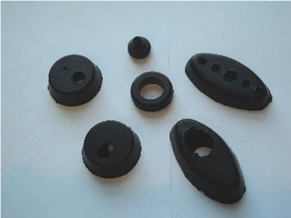 Picture of Firewall Grommet Package Chrysler Dodge Desoto Plymouth Cars Dodge And Plymouth Trucks 1939-1950