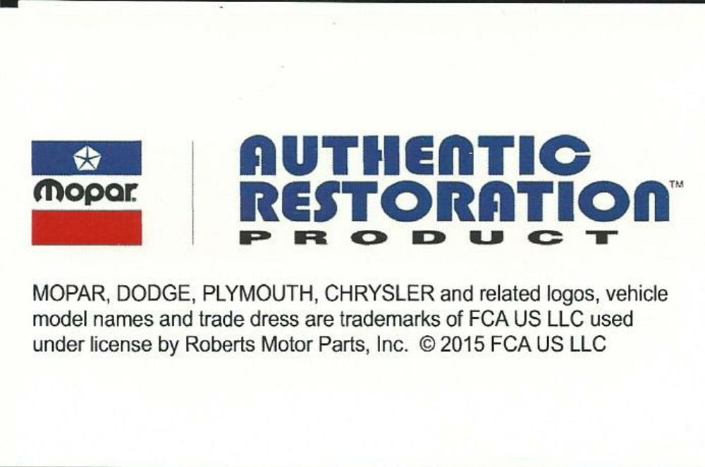 Picture of Plymouth Hub Cap Assembly 1939 1940 10 Inch Cap