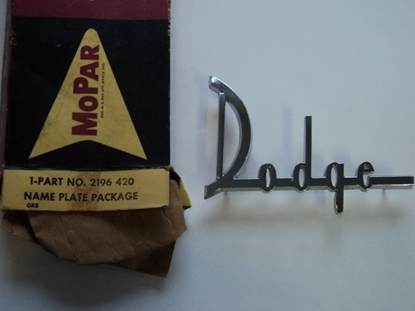 Picture of 1960 Dodge Dart Hood Emblem