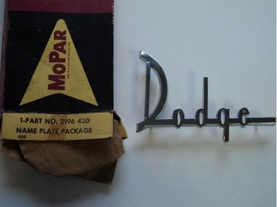 Picture of 1960 Dodge Dart Hood Emblem