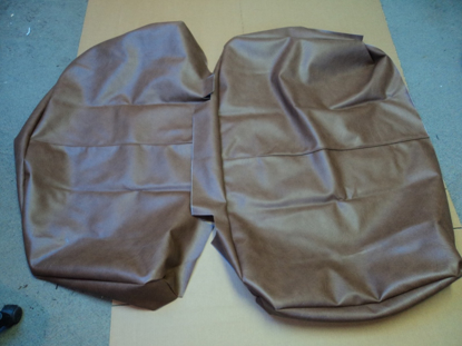 Picture of Seat Cover Brown Dodge Truck Plymouth Truck 1936-1938 Includes The Cover For The Back Section And The Cushion Section