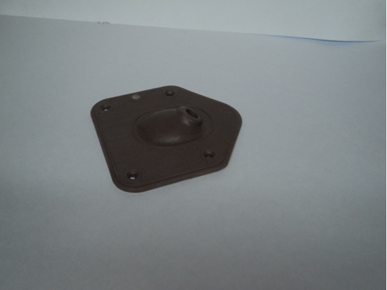 Picture of Brown 1936 Gear Shift Boot For Plymouth, Dodge, De Soto