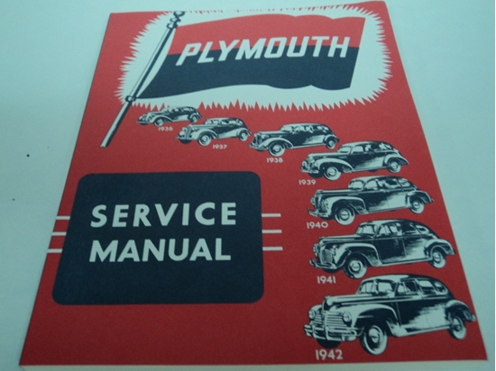 Picture of Shop Manual 1936-1942 Plymouth Cars