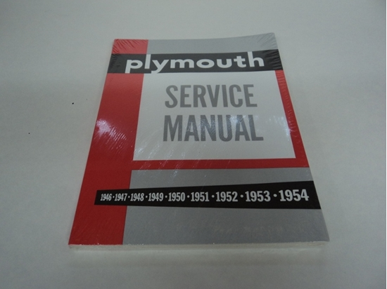 Picture of Shop Manual Plymouth Cars 1946-1954