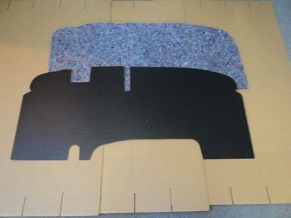 Picture of Firewall pad Power Wagon Flat 1954 to 1959