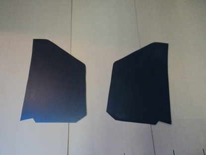 Picture of Dodge Truck Kick Panels Black Pair 1939-1947