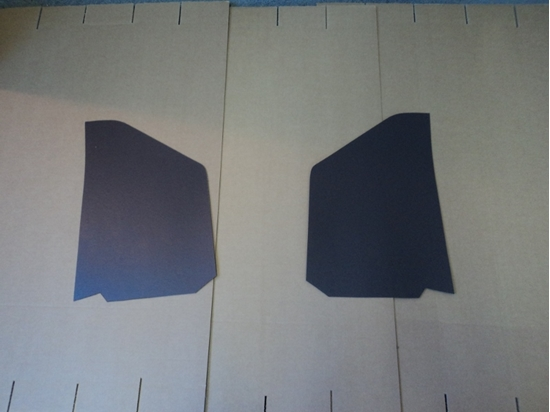 Picture of Dodge Truck Kick Panels Brown Pair 1939-1947