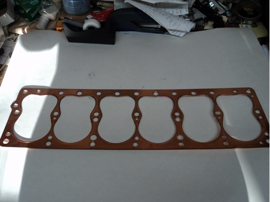 Picture of Head Gasket 1935-1959 6 Cyl Plymouth & Dodge(Short Engine) And Dodge Trucks Up To 1 Ton