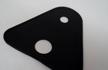 Picture of License Plate Housing Pad Chrysler Dodge Desoto Plymouth 1937 1938 1939
