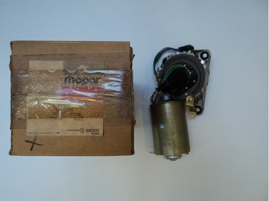Picture of Variable speed wiper motor for 1976 and 1977 Dodge Aspen and Plymouth Volare