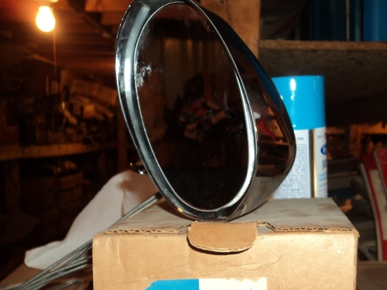 Picture of Left hand remote Control Mirror 1970 Dodge Challenger 1970 Plymouth Barracuda 2999549