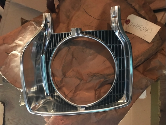 Picture of 1965 Plymouth Belvedere Head light bezel right hand passenger side 2445240