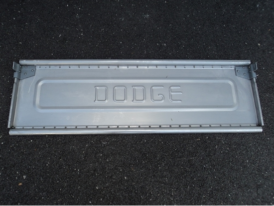 Picture of Dodge Truck Tail Gate 1939 to 1947 with Large Bracket