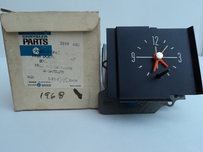 Picture of Dash Clock Standard Dash 1968 1969 1970 Coronet Satellite Road Runner GTX 2889620