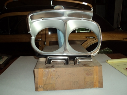 Picture of 1968 Plymouth Fury Left hand headlight bezel 2786087